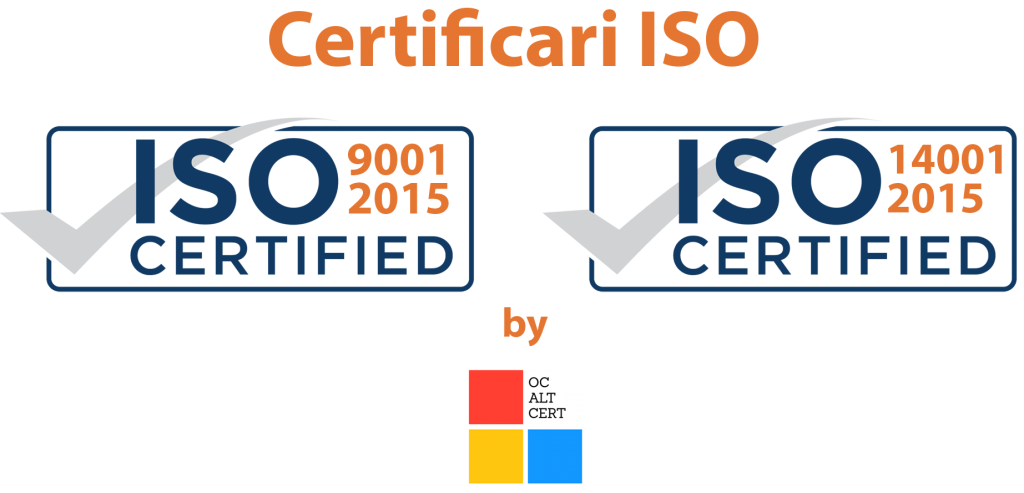 Certificari ISO Hale Metalice Semirotunde